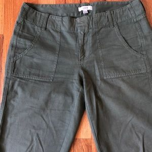 Final Price: JCREW Cropped Khakis
